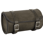 Dark Brown Leather Motorcycle Tool Bag - Stofma  Hub