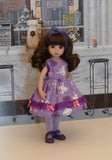 Prima Ballerina - dress, tights & shoes for Little Darling Doll or 33cm BJD