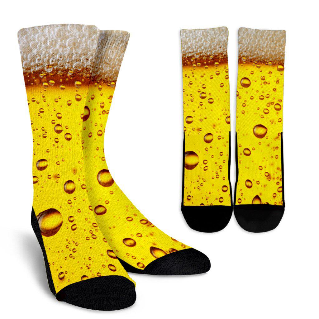 Beer Sublimated Crew Socks
