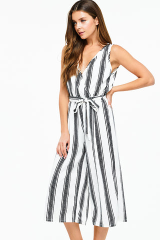 Stripe Relaxed Playsuit