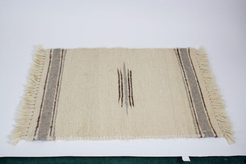 100% Alpaca Natural Color Woven Rugs