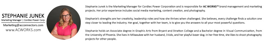 Stephanie Junek Marketing and Brand Manager