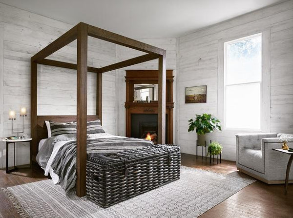 Intrustic home décor- King sized bed, canopy bed king size, canopy bed queen size, queen size bed, Rustic bed frame, farm house beds, platform bed, King bed, queen bed, industrial bed, modern bed, contemporary bed