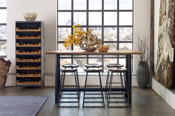 Intrustic Home Décor-Rustic bar stools, Rustic counter stools, backless rustic bar stools, brown rustic counter stools, bar stools, red rustic bar stools, warehouse loft bar stools, industrial barstools, industrial counterstool