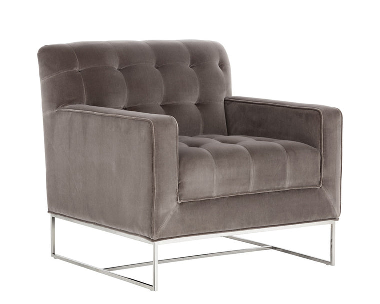 VALEN ARMCHAIR GREY