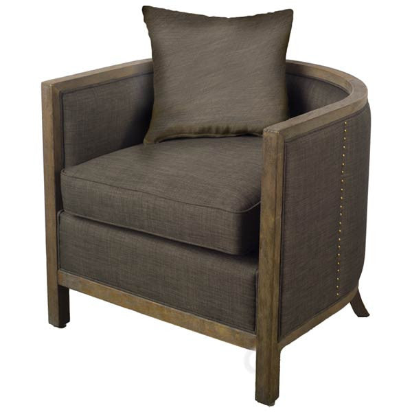Walden Chair Dark linen