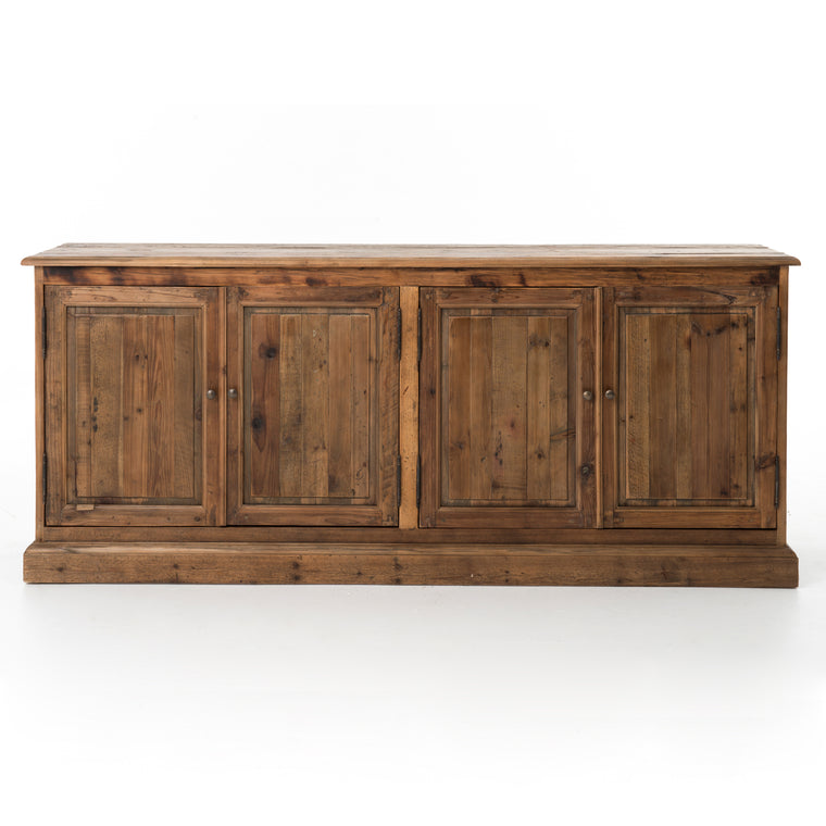 CARMELLA  LARGE SIDEBOARD-BLEACHED PINE