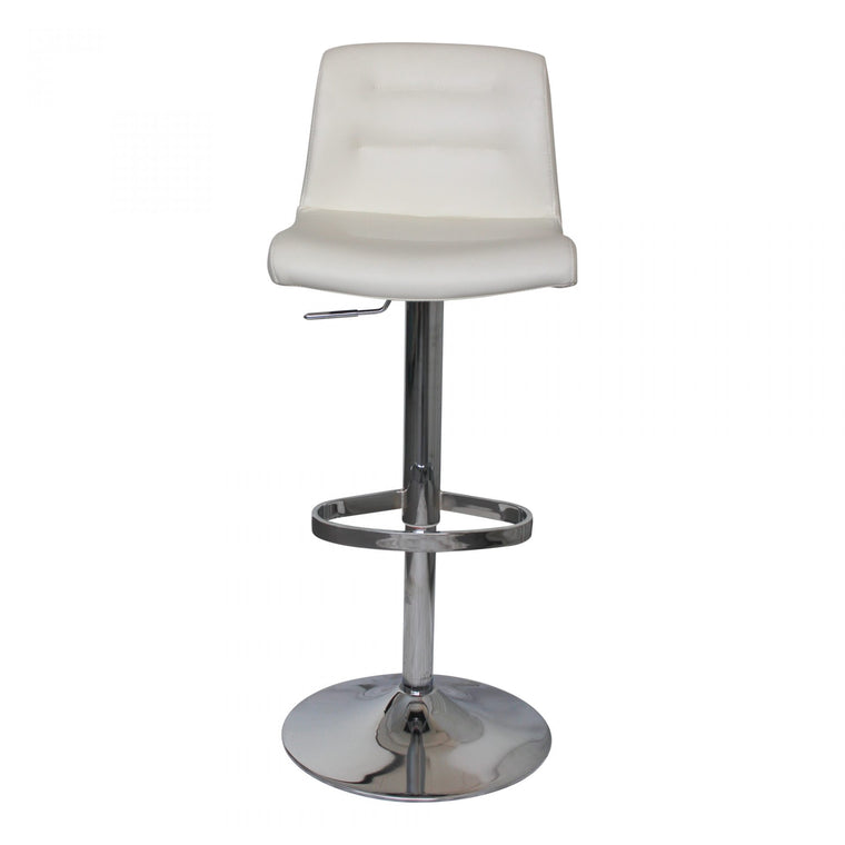 Daley Adjustable Stool White