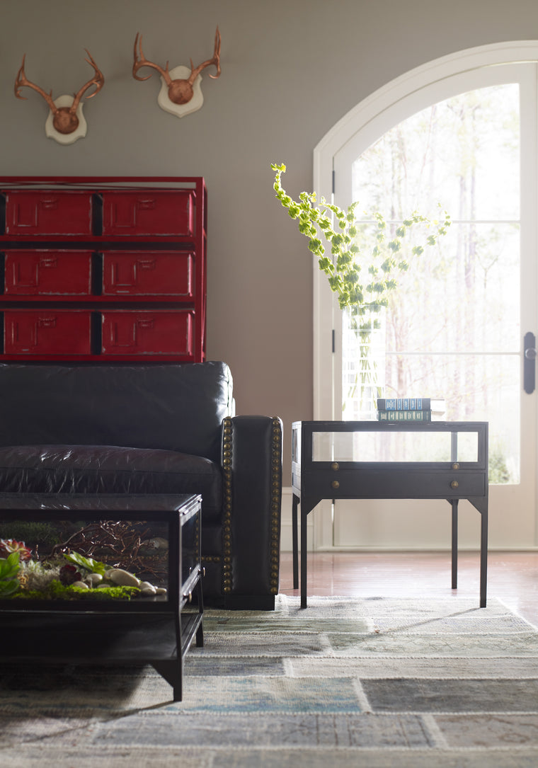 MACKINLEY SHADOW BOX END TABLE