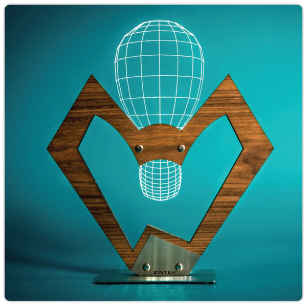 "3D Illusive Table Lamp - ""The Lamp"" - ModiDen"