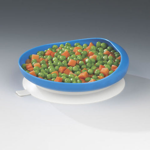 Scooper Plate with Suction Cup Base Maddak specialneedsessentials