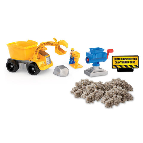 Kinetic Rock Crusher Play Set Spinmaster specialneedsessentials