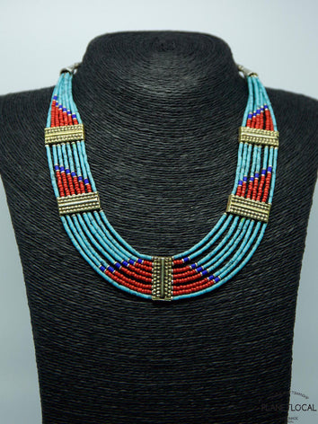 Limited Edition 8 Lane Torquoise Necklace