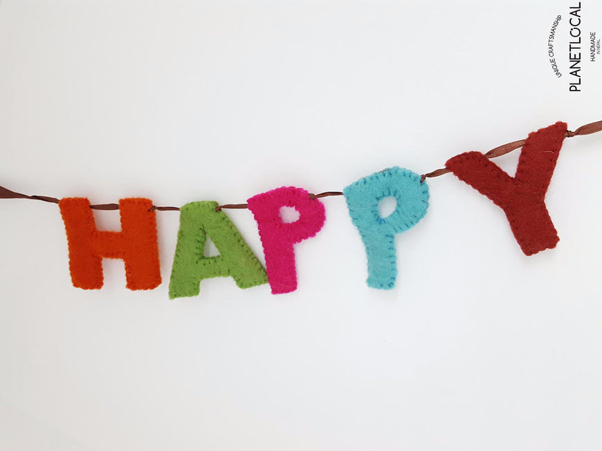 Customise your words with Handmade Felt letters - PLANETLOCAL (5)
