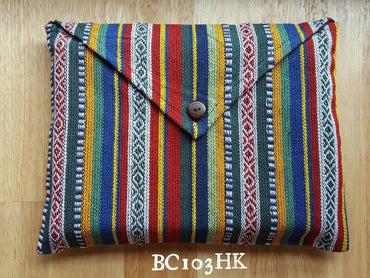 Ultimate Handmade Ethnic Pattern Bag for Tablet Bag/iPad sleeve/Book Cover/special gift wrap/Christmas gift wrapping - PLANETLOCAL