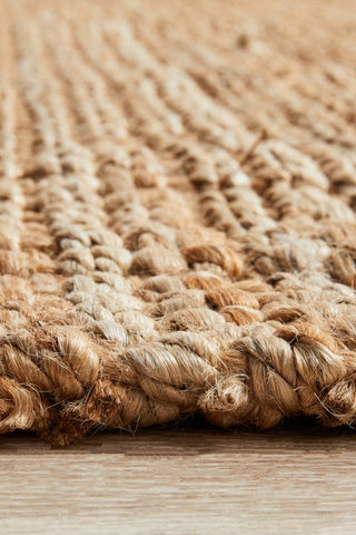 Chunky Natural Fiber Barker Rug - Floorsome