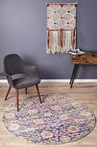 Zolan Transitional Multi Round Rug