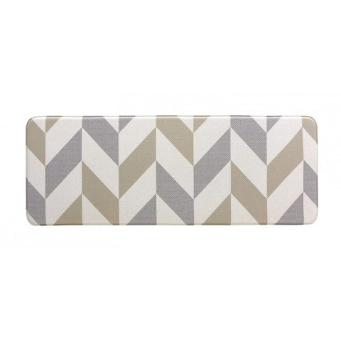 Kitchen Mat - Herringbone Gainsboro