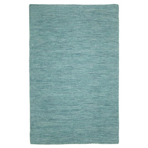 Indoor Outdoor Recycled Plastic PET Polypropylene Rug Cancun Aqua