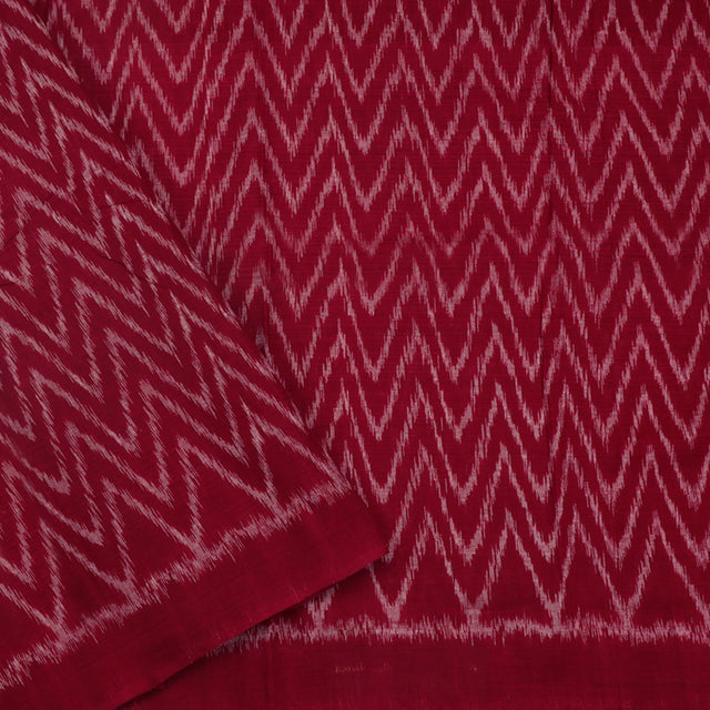 Kanakavalli Ikat Cotton Blouse Length 360-06-79983 - Cover View