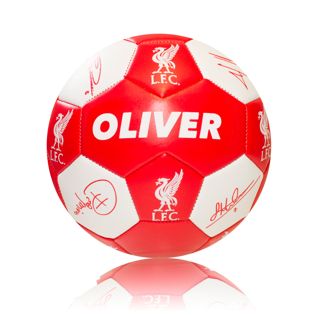 Personalised Liverpool Football - Size 3