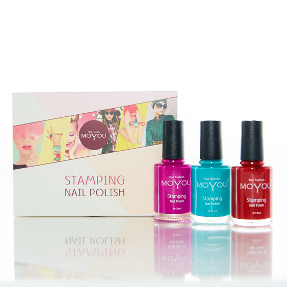 Bundle of 3 Nail Polishes