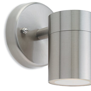 Stainless Steel Fusion Single Wall Light