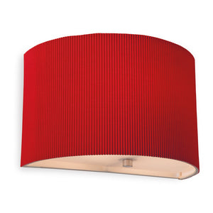 Red Clio Wall Light