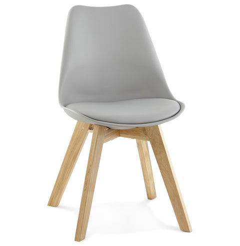 Grey Modern Kokoon Tolik Dining Room Chair