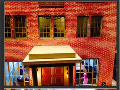 Mayberry Courthouse model