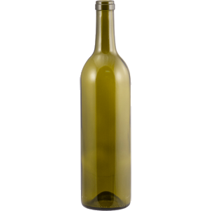 Bordeaux Bottles - 750ml - Antique Green