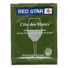 Red Star Cote de Blanc Yeast - 10 pack