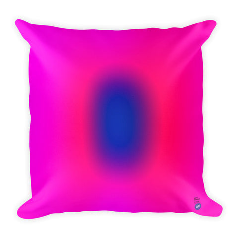 Anne Senstad Pillow - Square - Pink-Blue Gradient