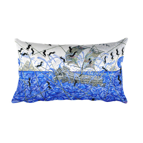 Andrew Schoultz  Pillow - Long