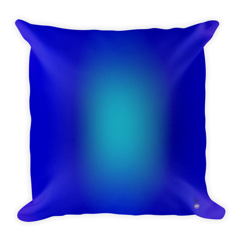 Anne Senstad Pillow - Square - Blue-Turqoise Gradient