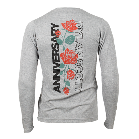 Anniversary Ladies Long Sleeve Tee