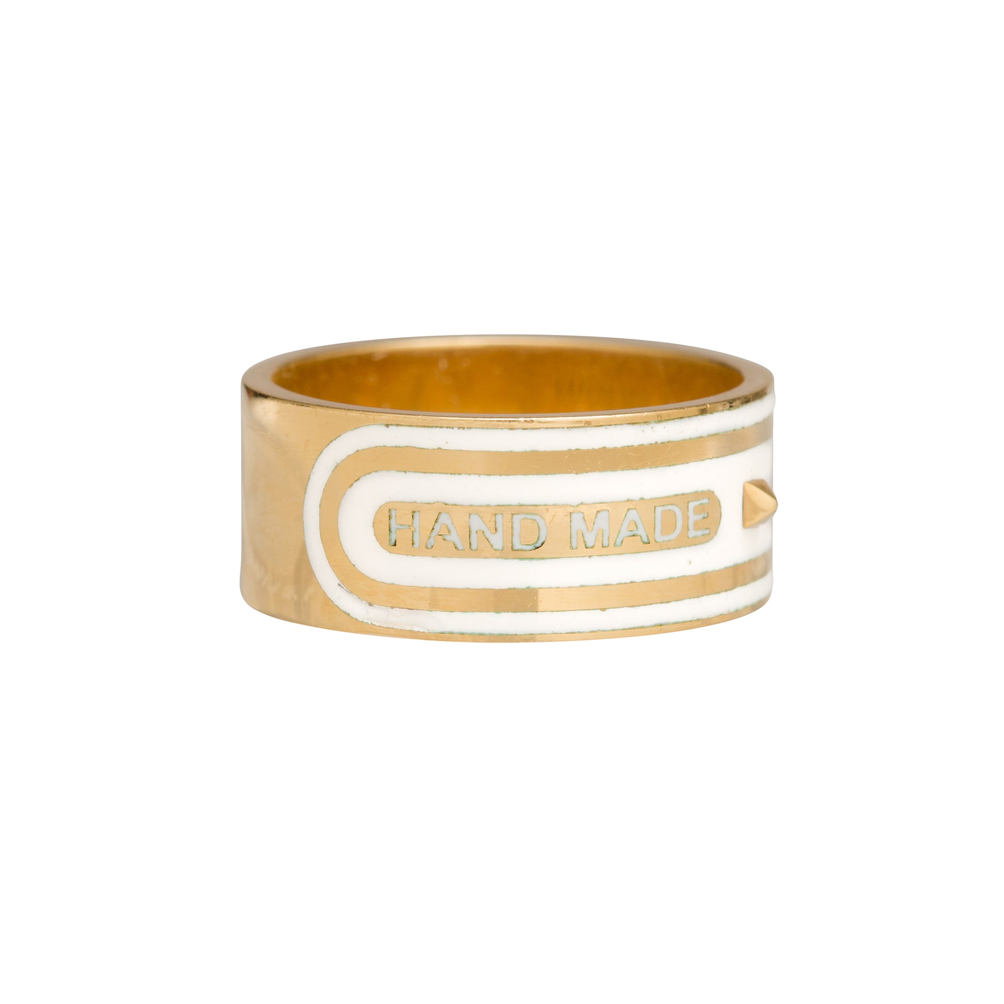 Wholeness Wide Band by Foundrae for Broken English Jewelry