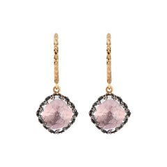 Lady Antoinette Cushion Drop Earrings by Larkspur & Hawk for Broken English Jewelry