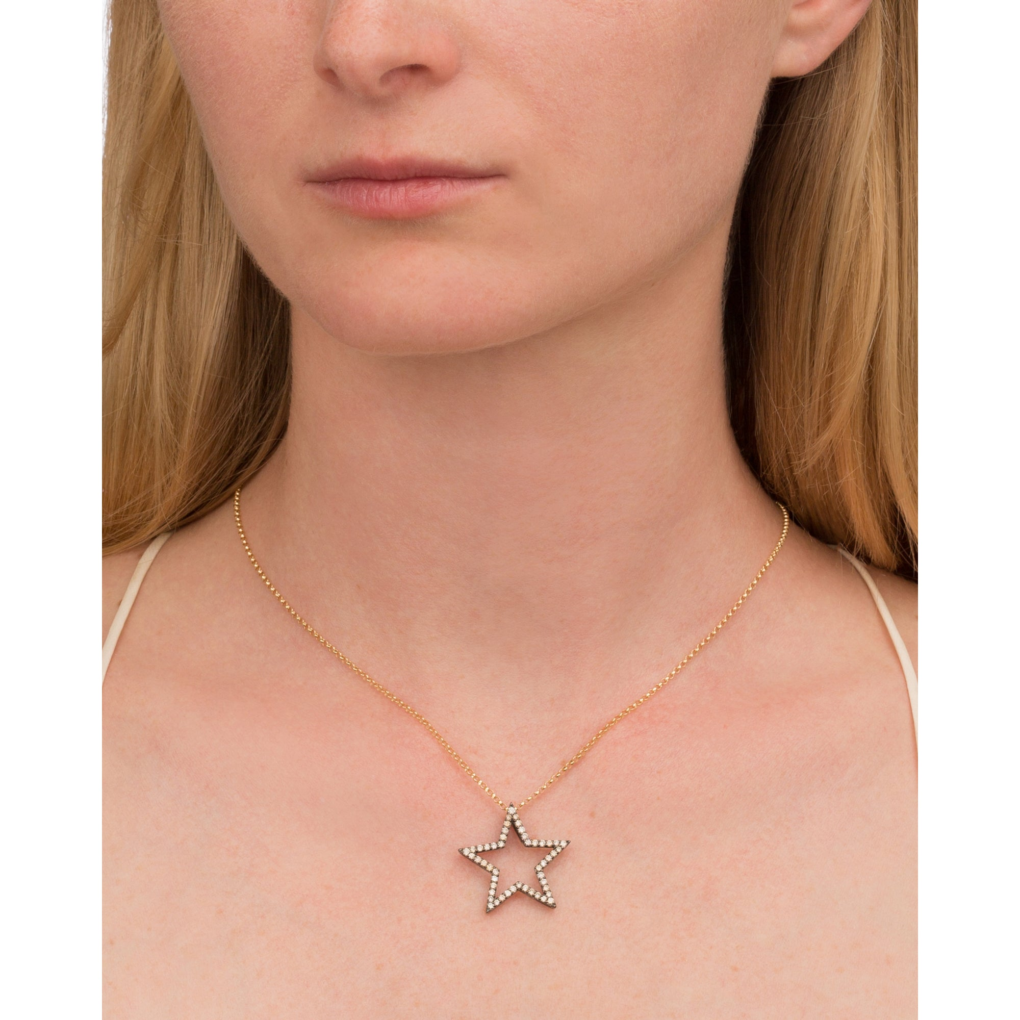 25 mm Star Pendant by Rosa de la Cruz for Broken English Jewelry