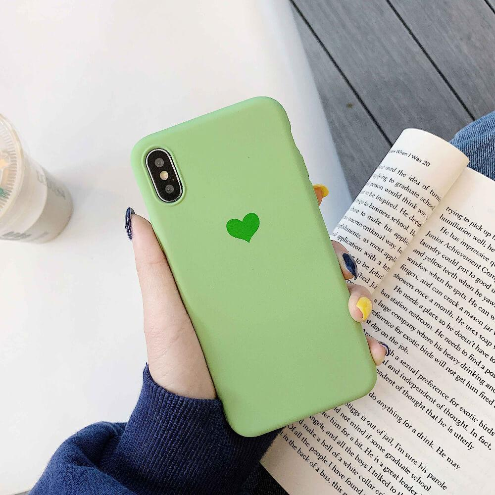 Rubber Heart Green