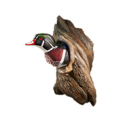 Wood Duck in Tree;  Wall Sculpture by Phil Galatas - 6209252505