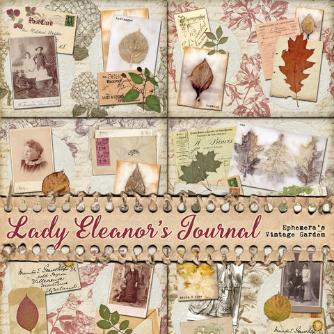 Lady Eleanor's Journal - Printable Journal Kit