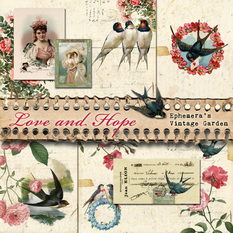 Love and Hope - Printable Journal Kit