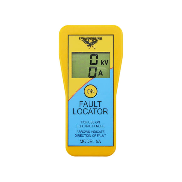 THUNDERBIRD FAULT LOCATER DISPLAYS VOLTS, AMPS & DIRECTION EF-5A