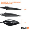 RAK Air Wedge Pump - Inflatable Shim, Alignment and Leveling, Pry Bar Tool - RAK Pro Tools