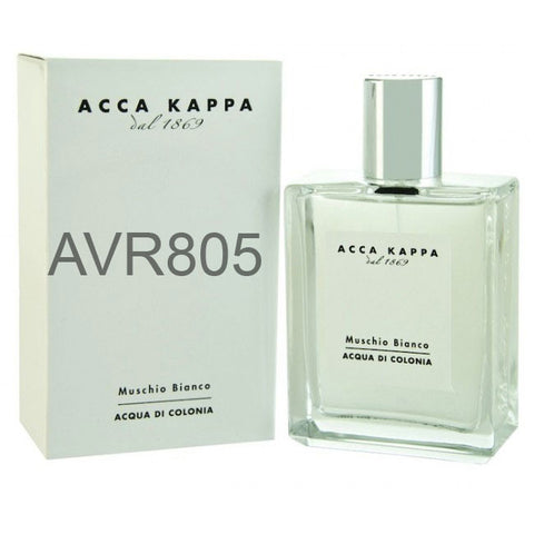 Acca Kappa Muschio Bianco White Moss Acqua Di Colonia Spray Men & Women 100ml