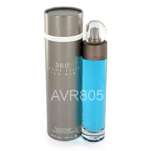 Perry Ellis 360 Degrees (Gray Box) 100ml EDT Spray Men