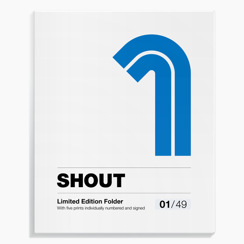 Shout (Alessandro Gottardo) / Limited Edition Folder no. 1