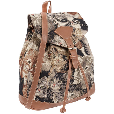 Kittens Everywhere All-Over Mini Backpack