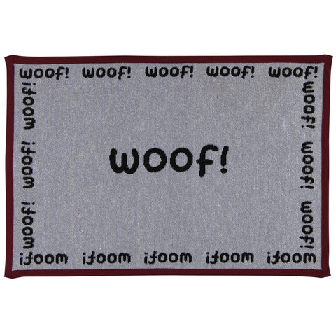 Woof All-Over Feeding Floor Mat